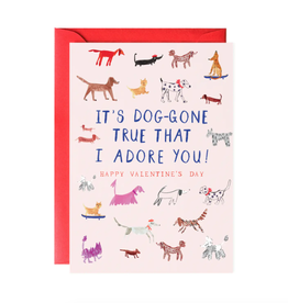 Doggone True Valentine's Day Card
