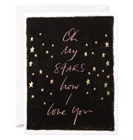 Oh My Stars Card