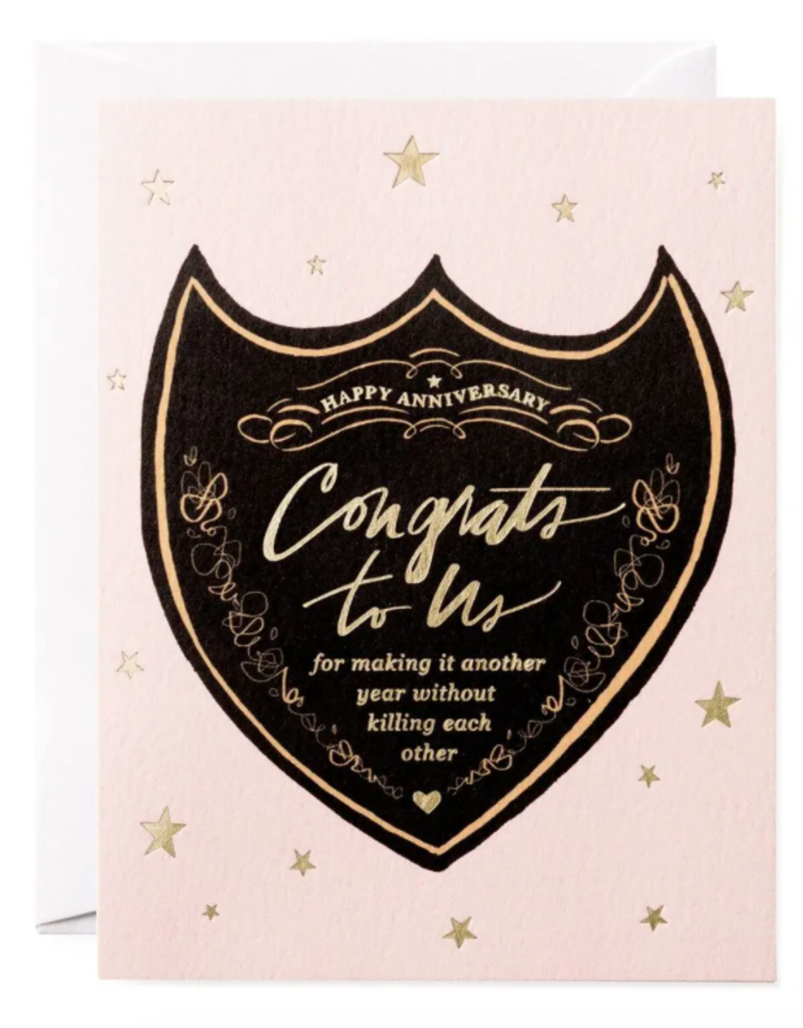 Congrats to Us Anniversary Card