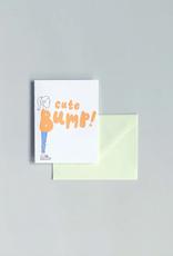 Cute Bump Card