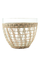 Seagrass Cage Salad Bowl Large