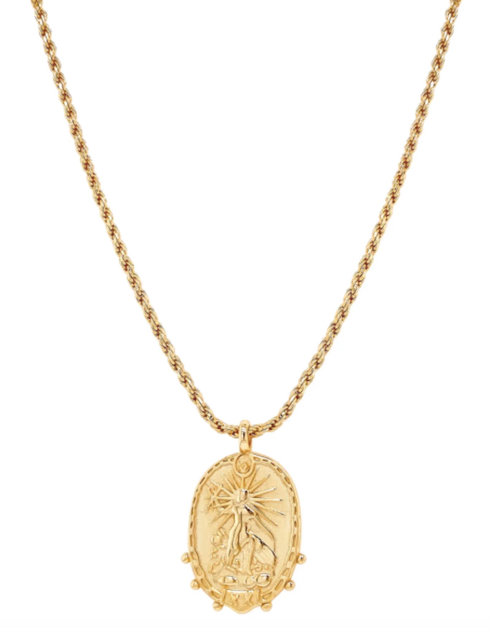 Inner Warrior Pendant Necklace