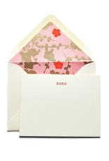 XOXO Fancy Pant Notecards
