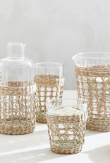 Seagrass Wide Cage Mid Carafe