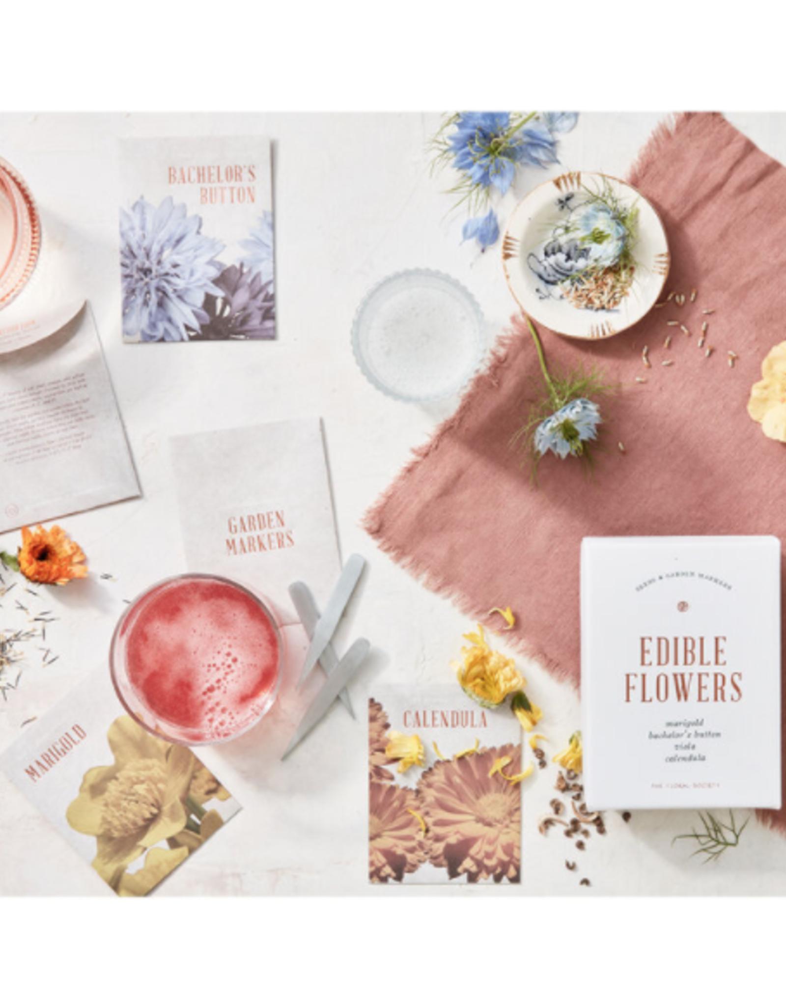 Edible Flower Seed Kit