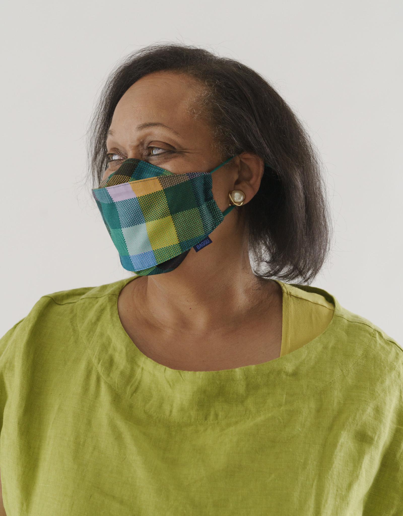 Fabric Mask Set - Madras Mix