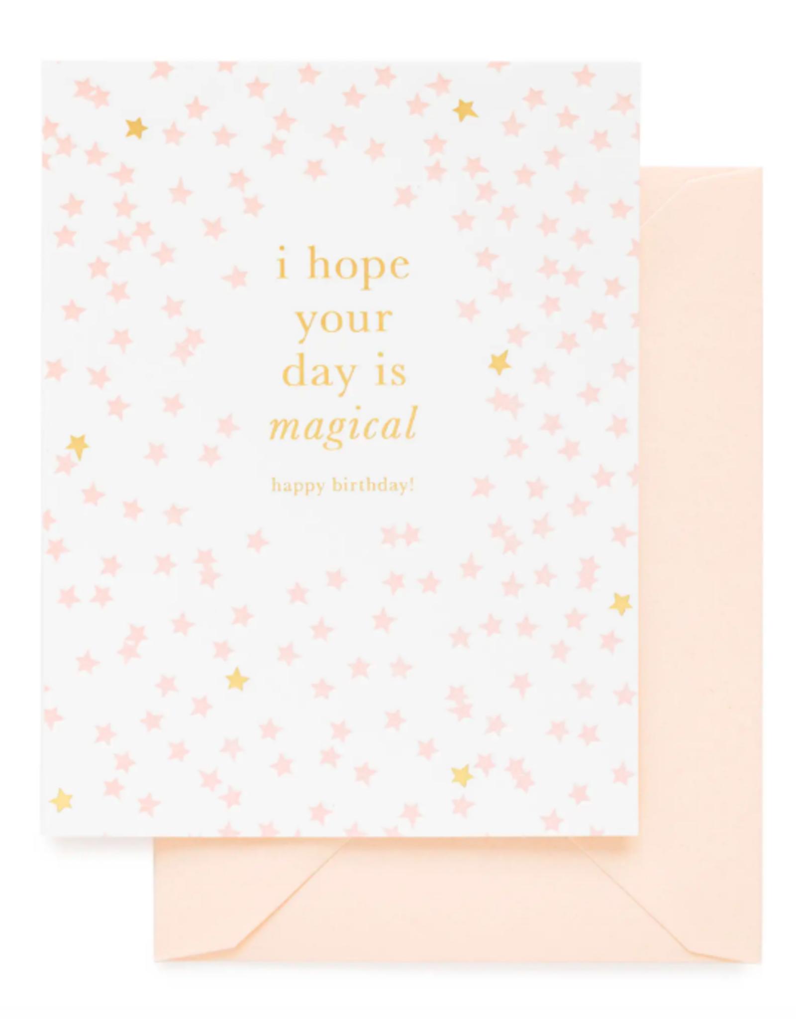 Magical Happy Birthday Card