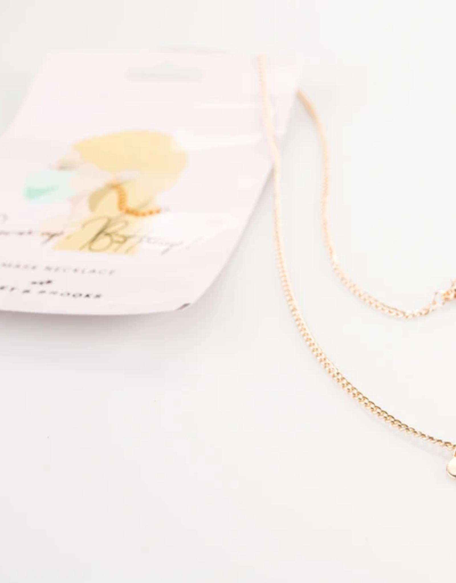 Gold Mask Chain