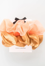 Lucy Oversized Scrunchie Duo