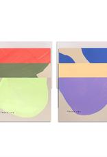 Neon Shape Thank You Card - Boxed Set