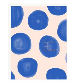 Yay Birthday Dots Card