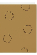 Thank You Go-Rounds Greeting Card