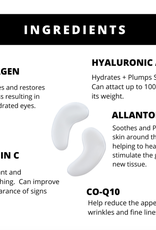 Bright Eyes - Hydrogel Collagen & Hyaluronic Acid Eye Patches