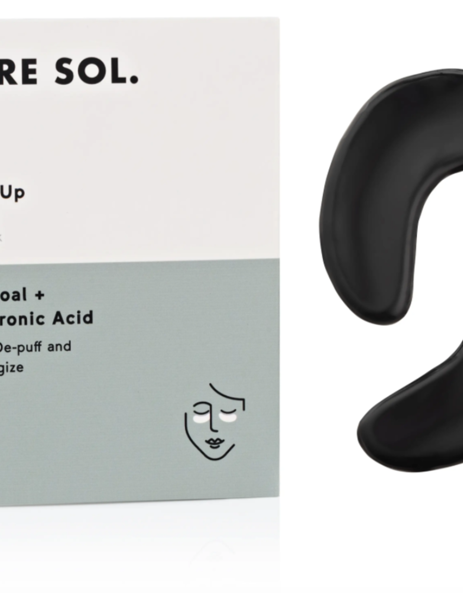 Wake Up - Charcoal + Hyaluronic Acid Hydrogel Eye Patches