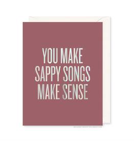 Sappy Songs Card