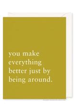Being Around Card
