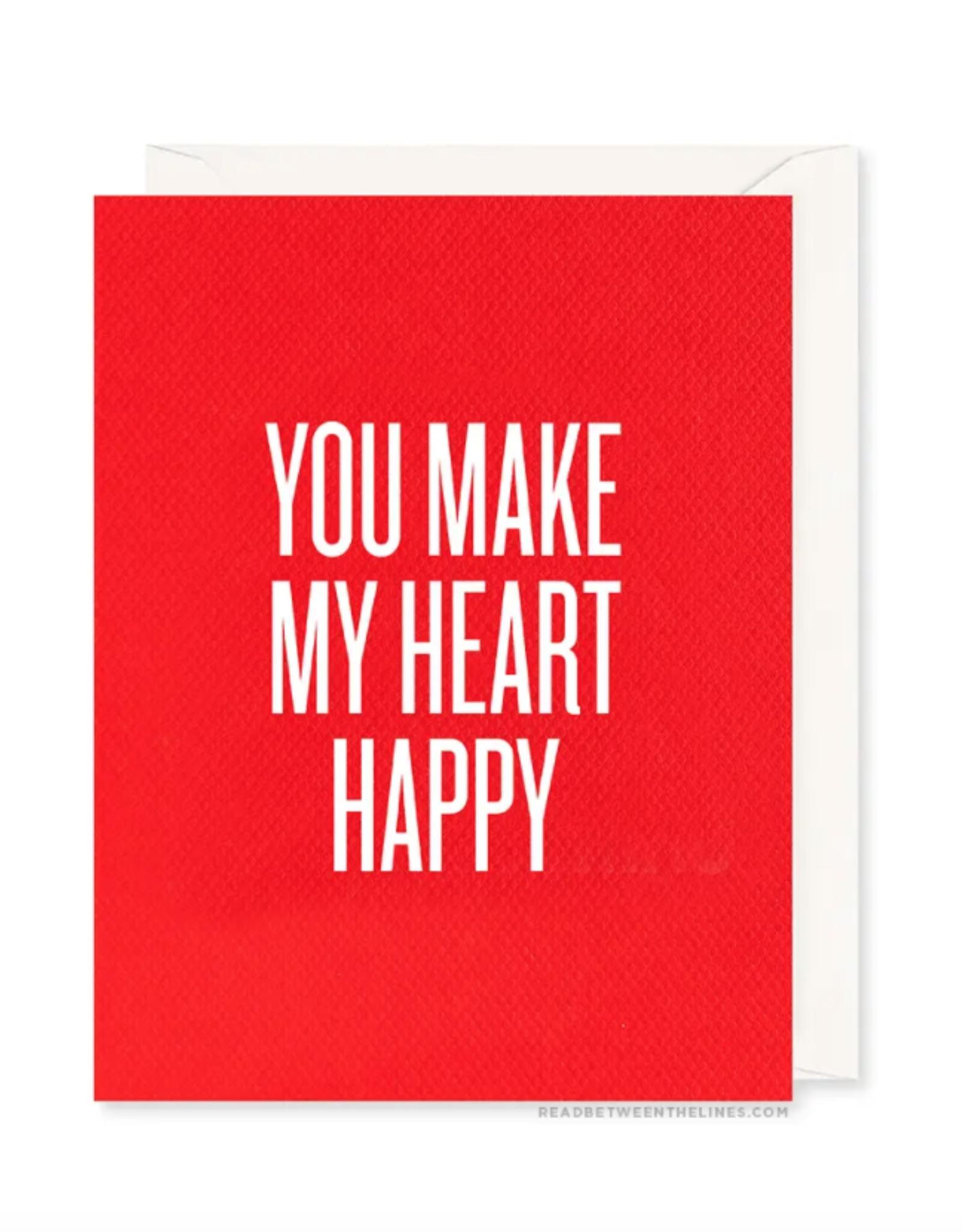 Heart Happy Card
