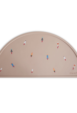 Silicone Place Mat - Rocket Ships