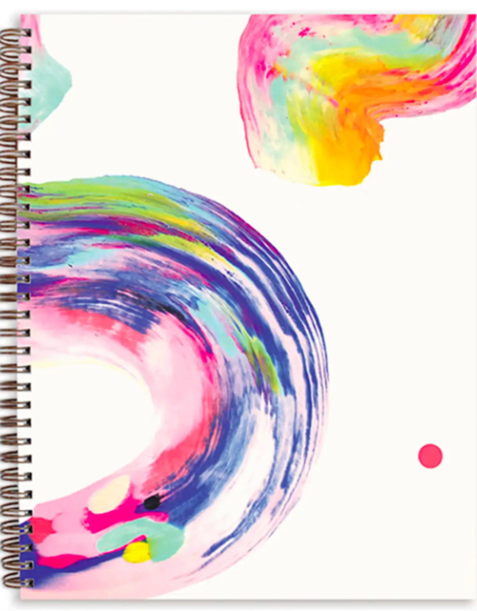 Candy Swirl Painted Sketchbook