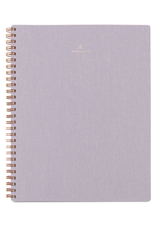 Lavender Gray Notebook - Lined