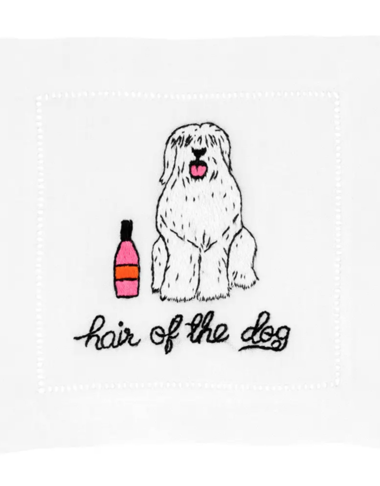 Hair of the Dog Cocktail Napkin