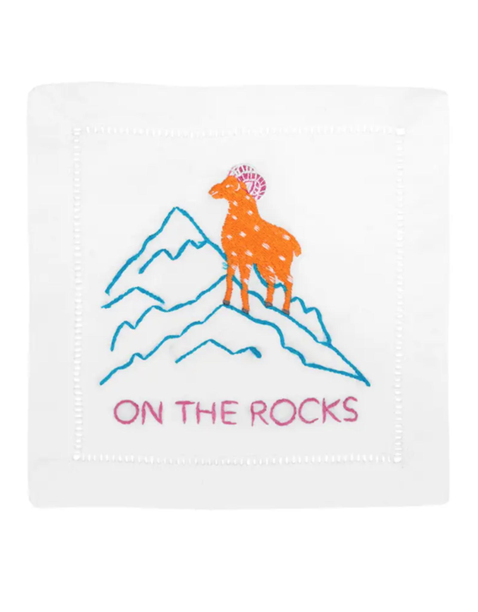 On the Rocks Cocktail Napkin