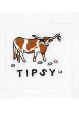 Tipsy Cocktail Napkin