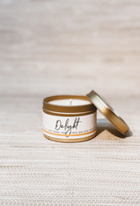 Delight 4 oz. Travel Tin Candle