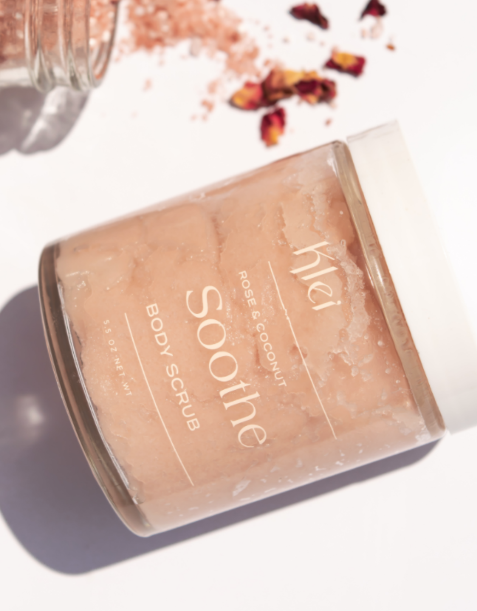 Soothe Rose & Coconut Body Scrub