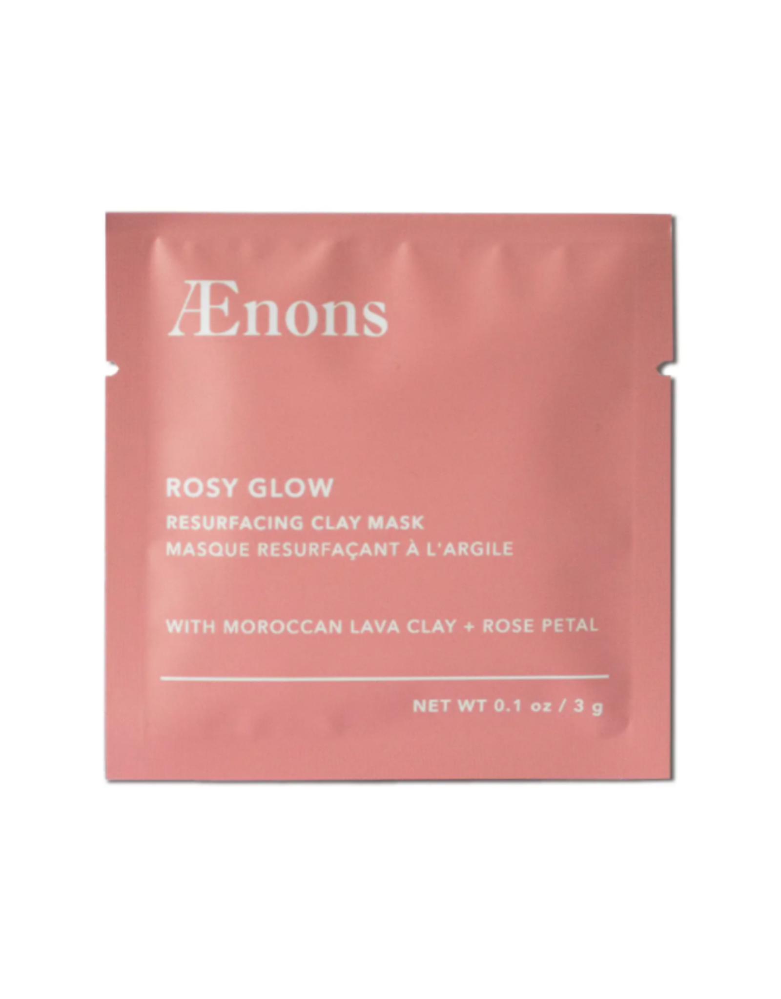 Rosy Glow Resurfacing Clay Mask Individual Packet