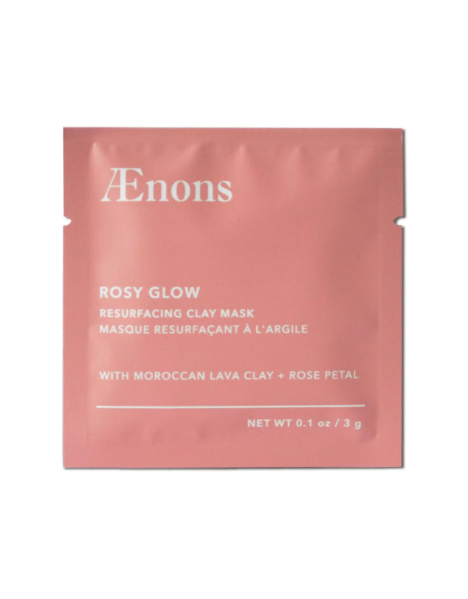 Rosy Glow Resurfacing Clay Mask Individual Packet
