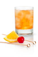 Summit Copper Cocktail Pick Set