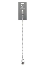 Viski Professional Stainless Steel Weighted Barspoon