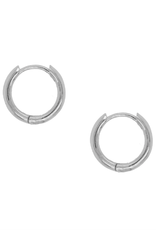 Clare Stacking Hoops - Silver