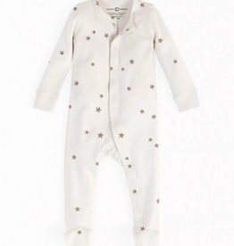 Skylar Footed Sleeper - Nova Print