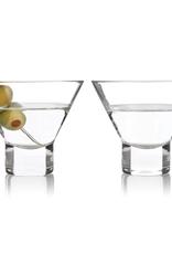 Raye Stemless Martini Glasses