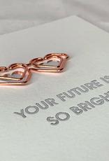 Future Is Bright Paper Clip Card