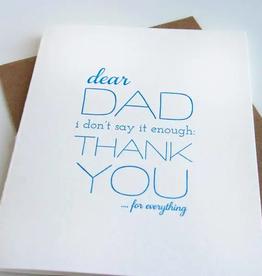 Dad Thanks Card