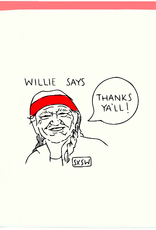 Willie Thank You Card