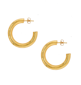 Amour Hoops - Gold