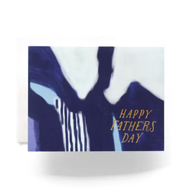 Abstract Fathers Day Card