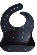 Silicone Baby Bib - Planets