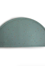 Silicone Place Mat - Cambridge Blue Confetti