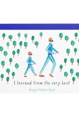 Like Father, Like Son Card