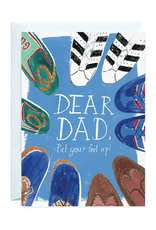 Put Your Feet Up, Dad Card