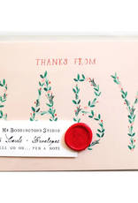 Thanks from the Baby - Box of 6 Notecards