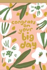 Big Day Congrats Card