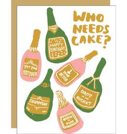 Bubbles Birthday Card