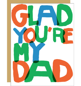 Glad You're My Dad Card
