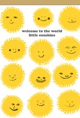 Welcome Sunshine Card